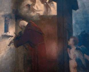 The Hermit — Арнольд Бёклин
