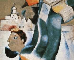 Святой кучер — Марк Шагал