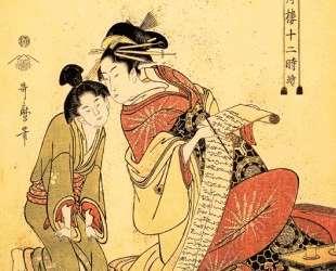 The Hour of the Dragon — Китагава Утамаро