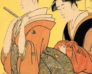 The Hour of the Ramin — Китагава Утамаро