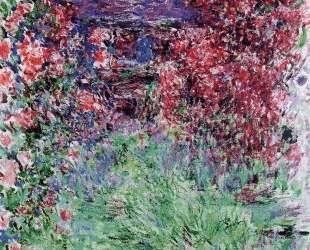 Дом среди роз — Клод Моне