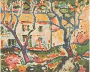 Дом за деревьями — Жорж Брак