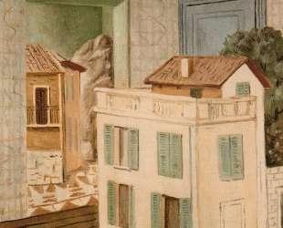 Дом в доме — Джорджо де Кирико