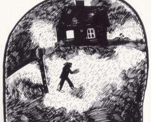 Дом на краю леса — Марк Шагал