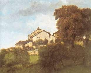 Дома Орнанского замка — Гюстав Курбе