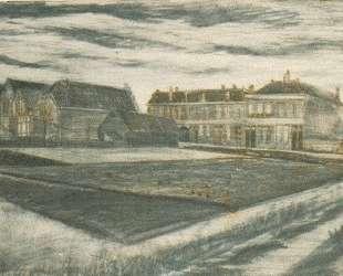 The Houses on Schenkweg where Van Gogh Lived — Винсент Ван Гог