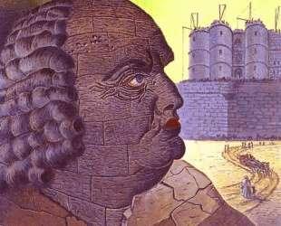 The Imaginary Portrait of the Marquis de Sade — Ман Рэй