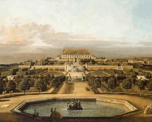 The imperial summer residence, garden — Бернардо Беллотто