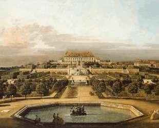 The imperial summer residence, garden — Бернардо Беллотто