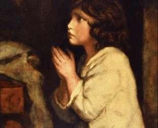 The Infant Samuel at Prayer — Джошуа Рейнольдс