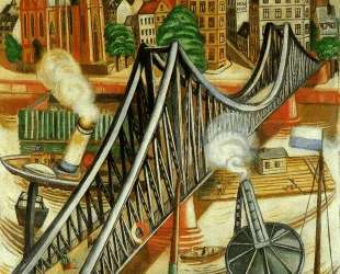 The Iron Bridge (View of Frankfurt) — Макс Бекман