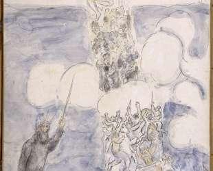 Израильтяне пересекают Красное Море — Марк Шагал