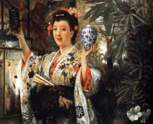 The Japanese Vase — Джеймс Тиссо