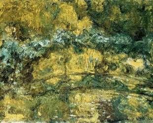 Японский мостик (Мостик над прудом с водяными лилиями) — Клод Моне