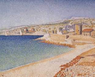 The Jetty at Cassis, Opus 198 — Поль Синьяк