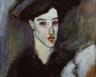 Еврейская женщина — Амедео Модильяни