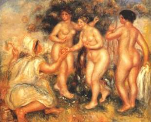 The judgment of Paris — Пьер Огюст Ренуар