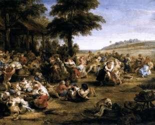 The Kermesse — Питер Пауль Рубенс