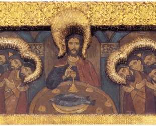 The King's Gate with the gate canopy. The Last Supper. — Николай Рерих