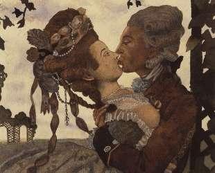 Поцелуй — Константин Сомов