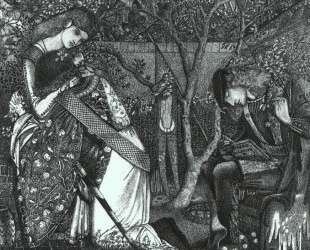 Прощание рыцаря — Эдвард Бёрн-Джонс