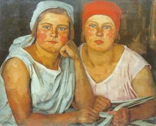 The Komsomol Girls — Константин Юон