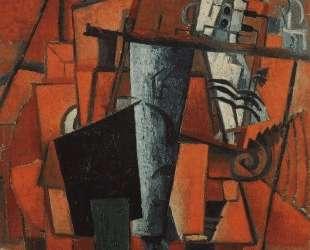 Дама у рояля — Казимир Малевич