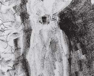 Дама в шляпе — Константин Коровин