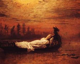 The Lady of Shalott — Джон Эткинсон Гримшоу