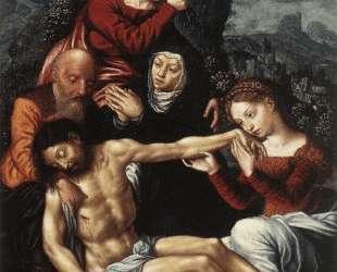 The Lamentation of Christ — Ян ван Хемессен