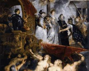 The Landing at Marseilles, 3rd November 1600 — Питер Пауль Рубенс