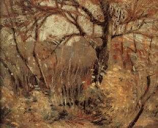 The Landscape of Autumn — Грант Вуд