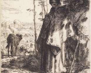 Большая пастушка — Жан-Франсуа Милле