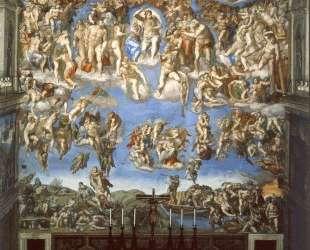 The Last Judgement — Микеланджело