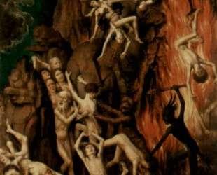 Страшный суд (правое крыло триптиха: Изгнание грешников в Ад) — Ганс Мемлинг
