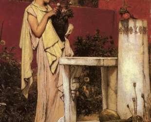 Последние розы — Лоуренс Альма-Тадема