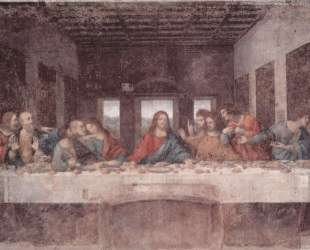 The Last Supper — Леонардо да Винчи