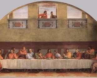 The Last Supper (detail) — Андреа дель Сарто