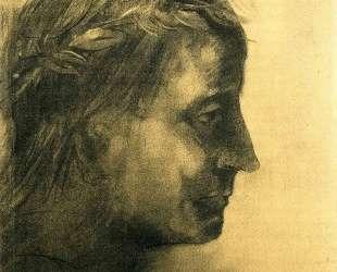 The laureate head — Одилон Редон