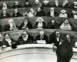 Законодательное ядро — Оноре Домье