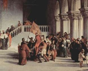 The liberation from the prison of Vettor Pisani — Франческо Хайес
