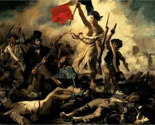 Свобода, ведущая народ (Свобода на баррикадах) — Эжен Делакруа