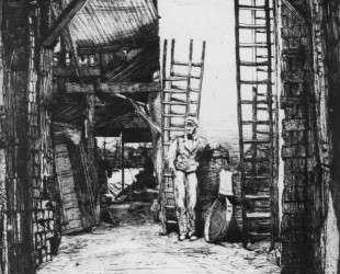 The Limeburner — Джеймс Эббот Макнил Уистлер
