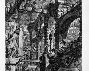 The Lion Bas-Reliefs — Джованни Баттиста Пиранези