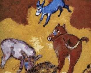 Лев состарился — Марк Шагал