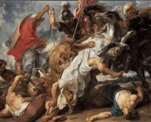 The Lion Hunt — Питер Пауль Рубенс