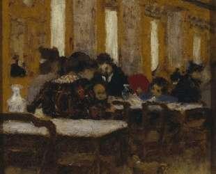 The Little Restaurant — Эдуар Вюйар
