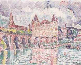 The Look at Montauban in rain — Поль Синьяк