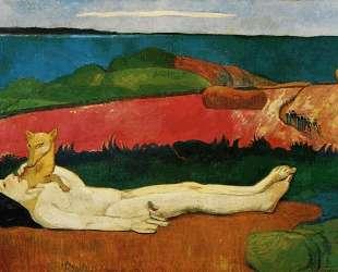 Потеря девственности (Пробуждение весны) — Поль Гоген