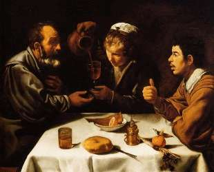 The Lunch — Диего Веласкес